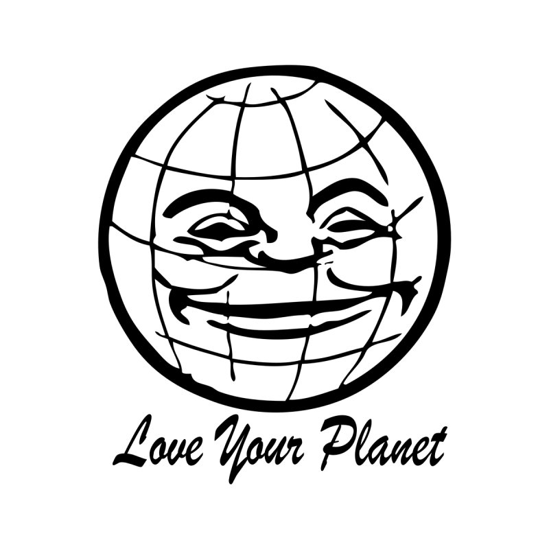 Love Your Planet Women's T-Shirt by Last Door on the Left