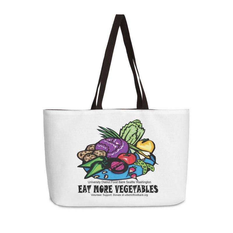 Eat More Vegetables Accessories Bag by Last Door on the Left