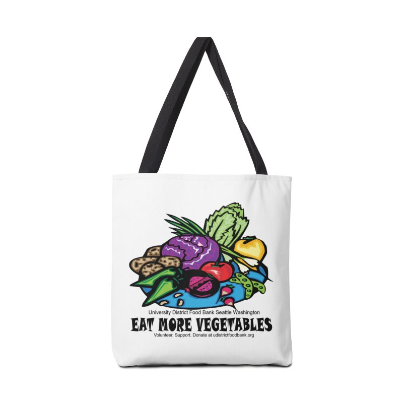 Eat More Vegetables Accessories Bag by Last Door on the Left