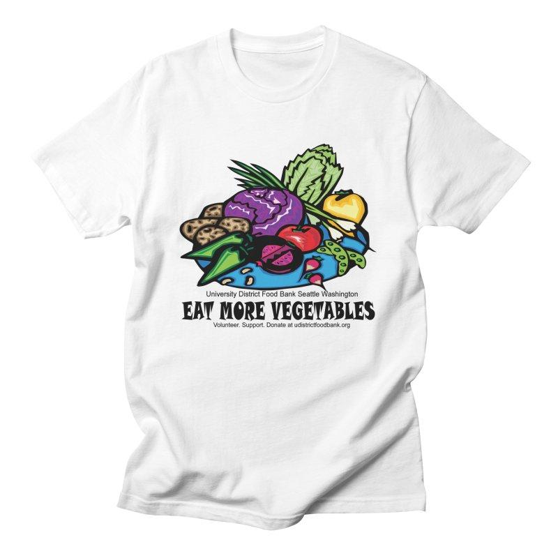 Eat More Vegetables Men's T-Shirt by Last Door on the Left