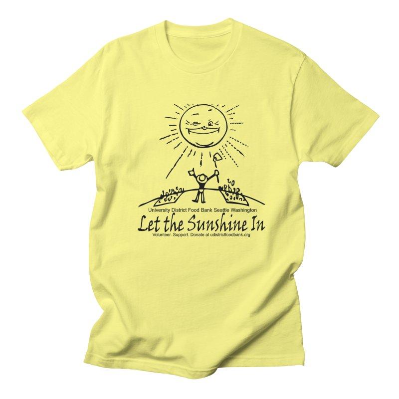 Let the Sunshine In Men's T-Shirt by Last Door on the Left