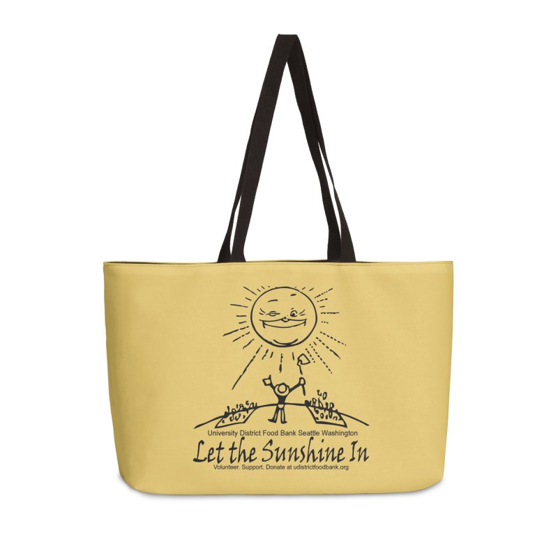 Let the Sunshine In Accessories Bag by Last Door on the Left