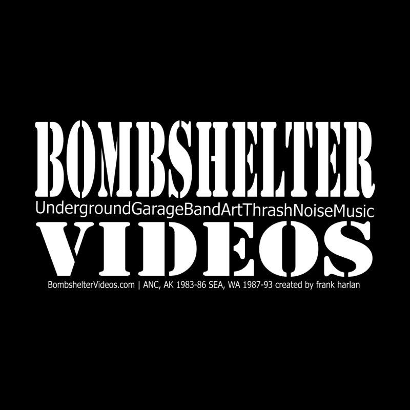 Bombshelter Videos Men's T-Shirt by Last Door on the Left