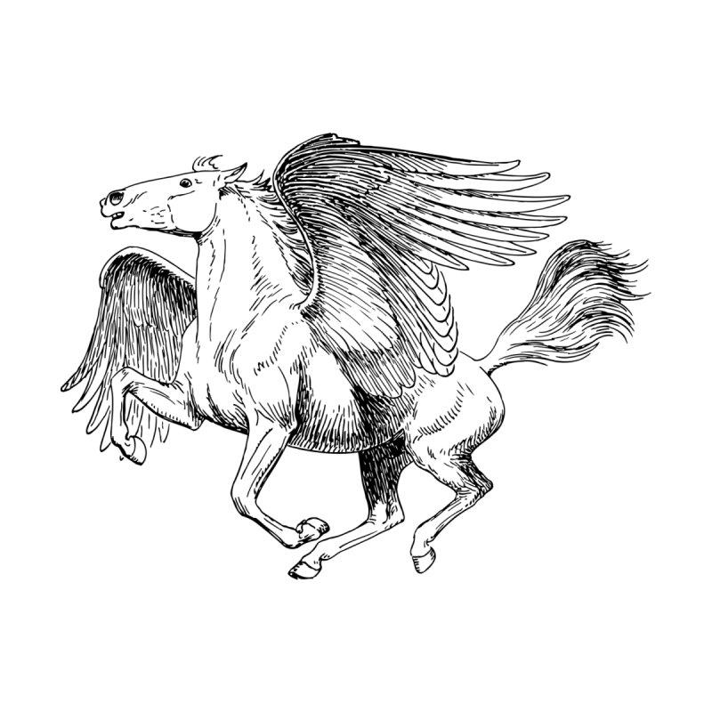 Pegasus Kids T-Shirt by Last Door on the Left