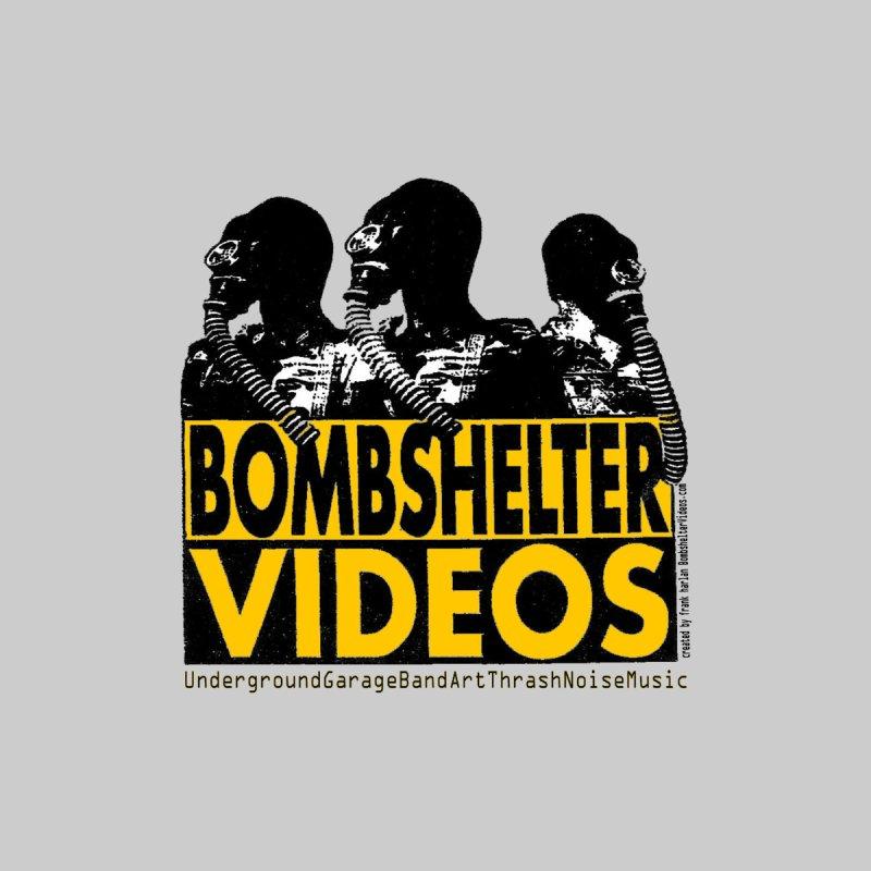 Bombshelter Videos Gas Mask Men's T-Shirt by Last Door on the Left