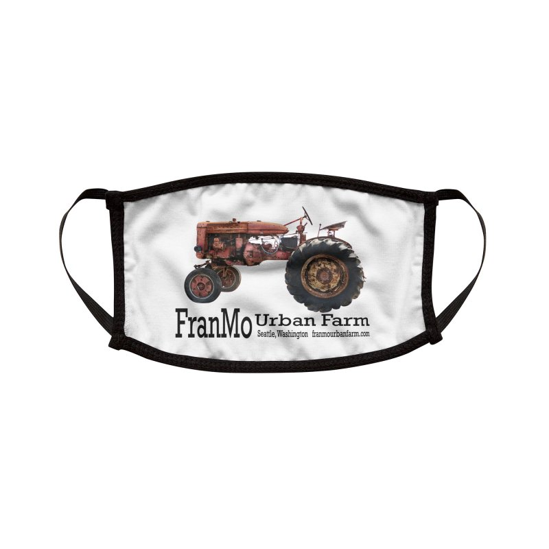 FranMo Tractor Logo 1 Accessories Face Mask by Last Door on the Left