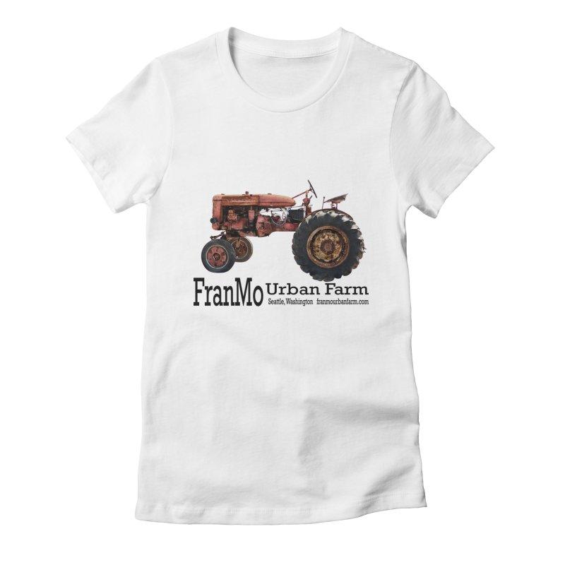 FranMo Tractor Logo 1 Women's T-Shirt by Last Door on the Left