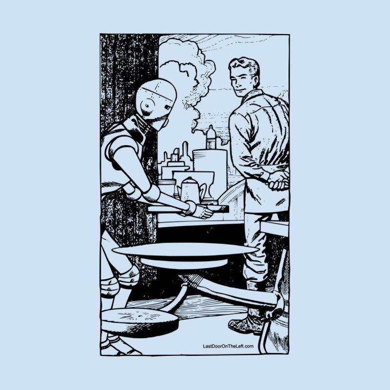 Robot Maitre d' Men's T-Shirt by Last Door on the Left