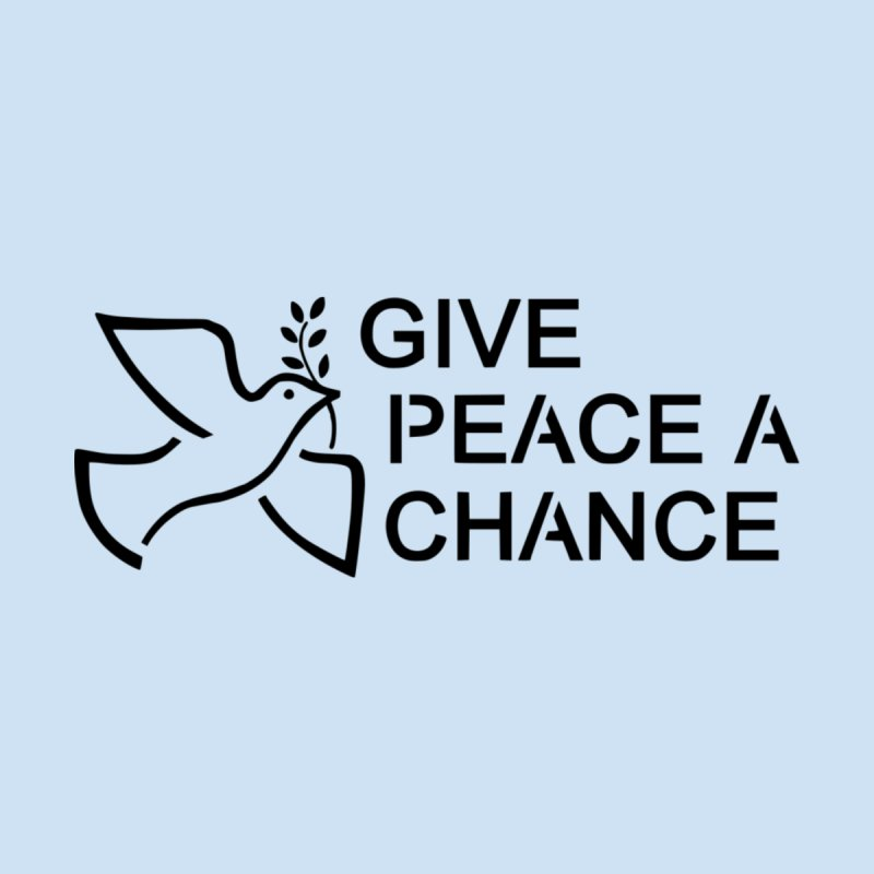 Give Peace a Chance Women's Pullover Hoody by Last Door on the Left