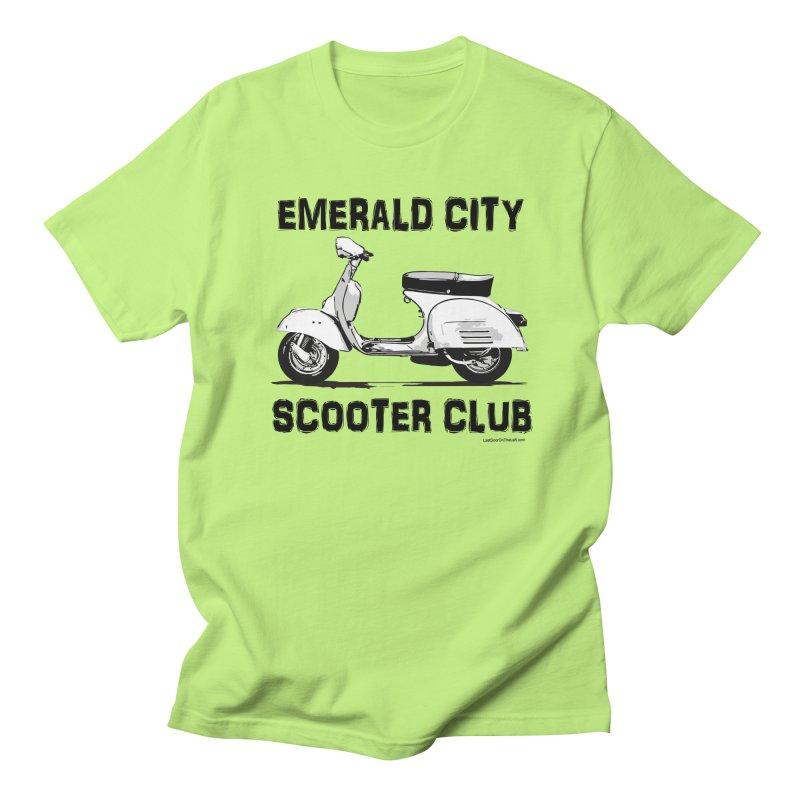 Scooter Club Men's T-Shirt by Last Door on the Left