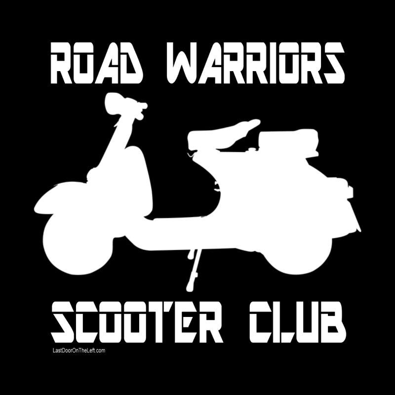 Road Warriors Scooter Club Women's Zip-Up Hoody by Last Door on the Left