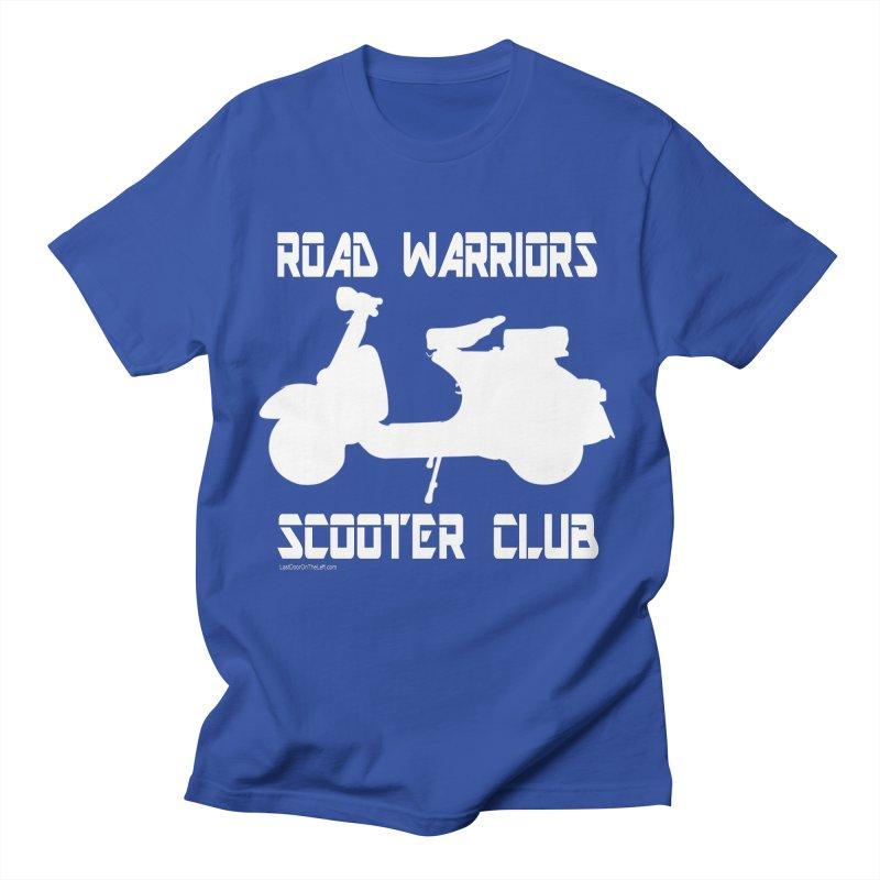 Road Warriors Scooter Club Men's T-Shirt by Last Door on the Left