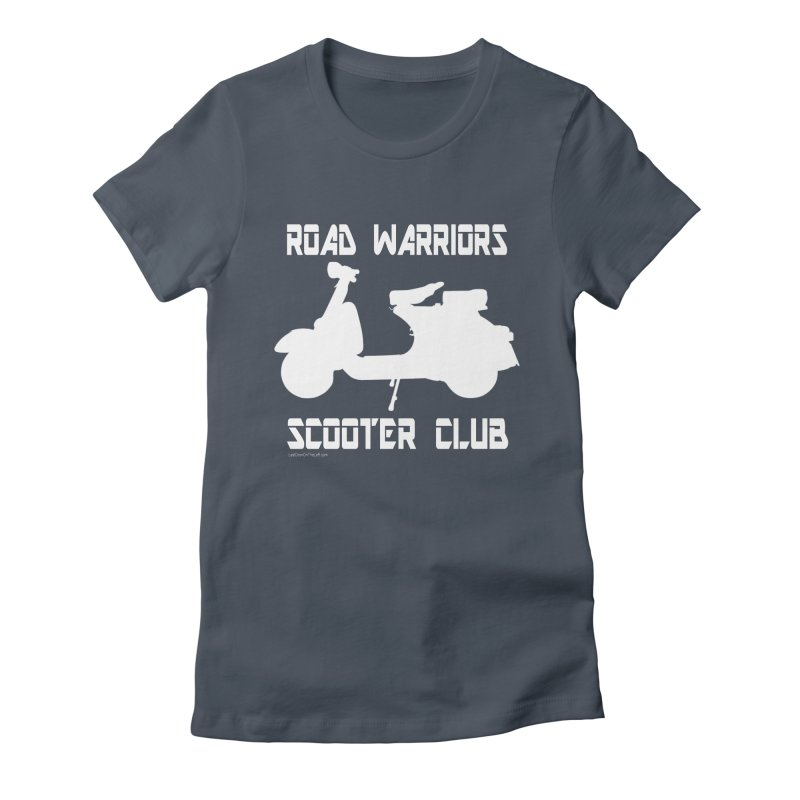 Road Warriors Scooter Club Women's T-Shirt by Last Door on the Left