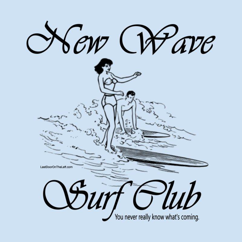 New Wave Surf Club Women's Zip-Up Hoody by Last Door on the Left