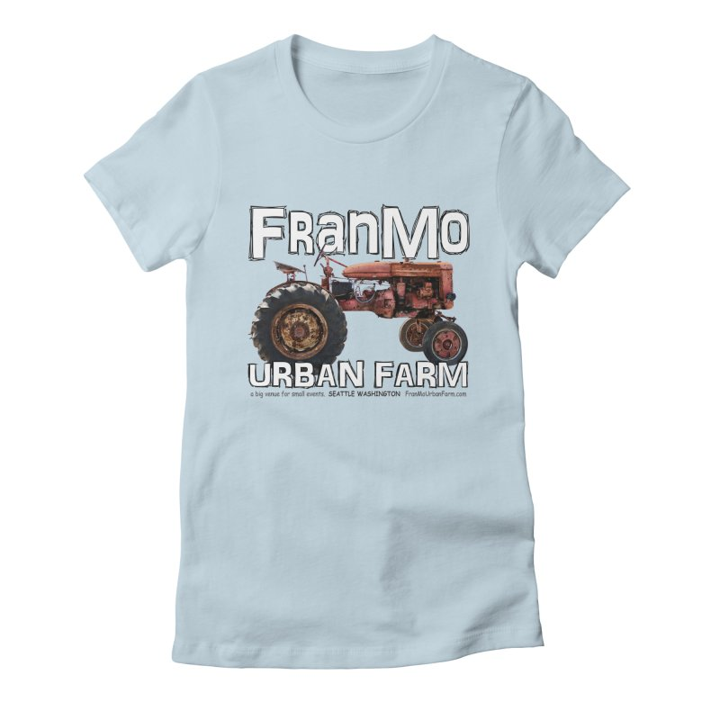 FranMo Tractor URL Women's T-Shirt by Last Door on the Left