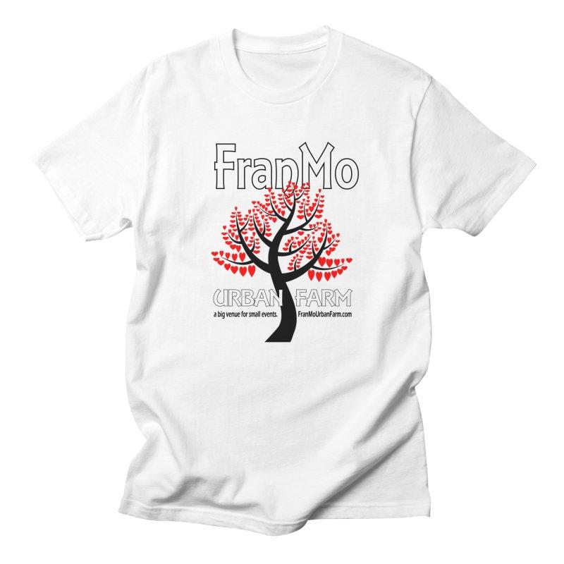 FranMo Heart Tree Men's T-Shirt by Last Door on the Left