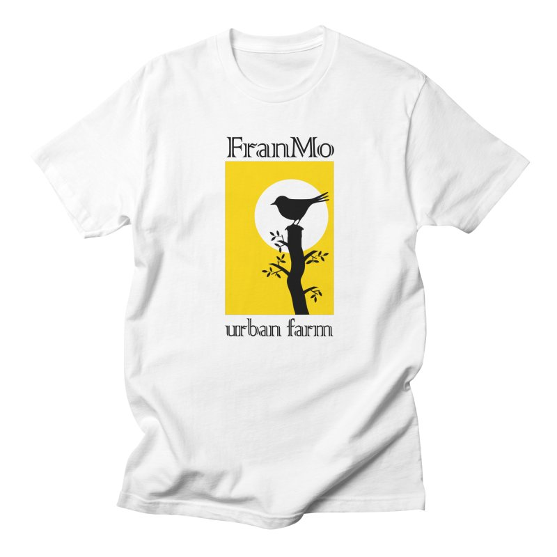 FranMo Yellow Bird Men's T-Shirt by Last Door on the Left