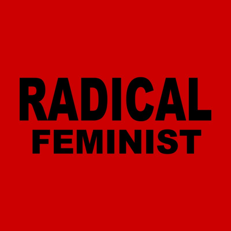 Radical Feminist - Bold Men's Zip-Up Hoody by Last Door on the Left