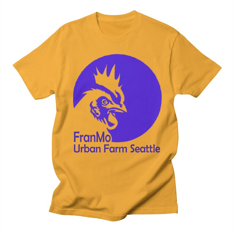 FranMo Rooster Men's T-Shirt by Last Door on the Left