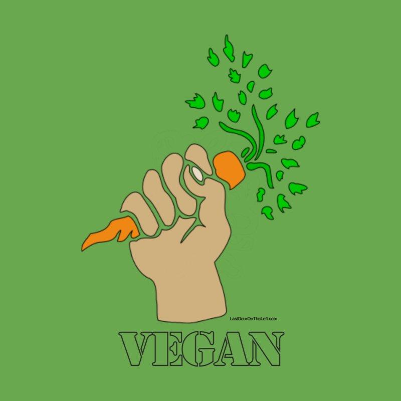 Vegan Stencil Men's T-Shirt by Last Door on the Left