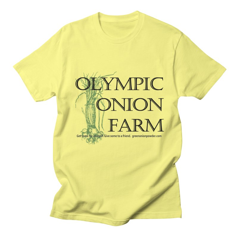 Olympic Onion Farm Men's T-Shirt by Last Door on the Left