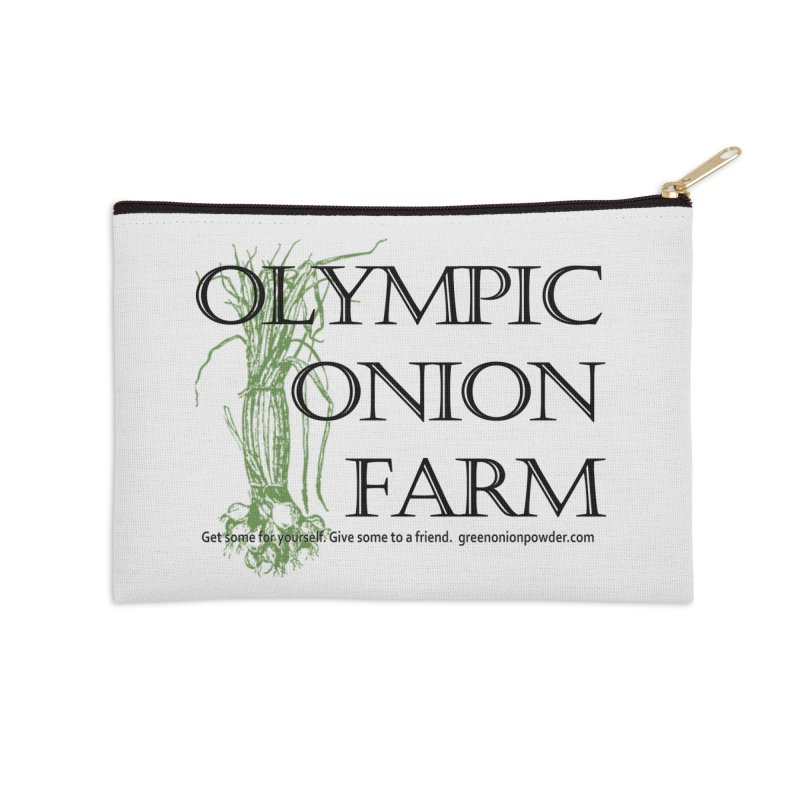 Olympic Onion Farm Accessories Zip Pouch by Last Door on the Left