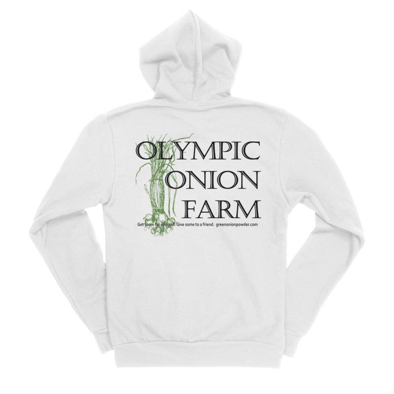 Olympic Onion Farm Men's Zip-Up Hoody by Last Door on the Left