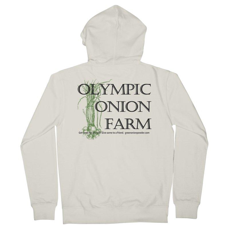 Olympic Onion Farm Women's Zip-Up Hoody by Last Door on the Left