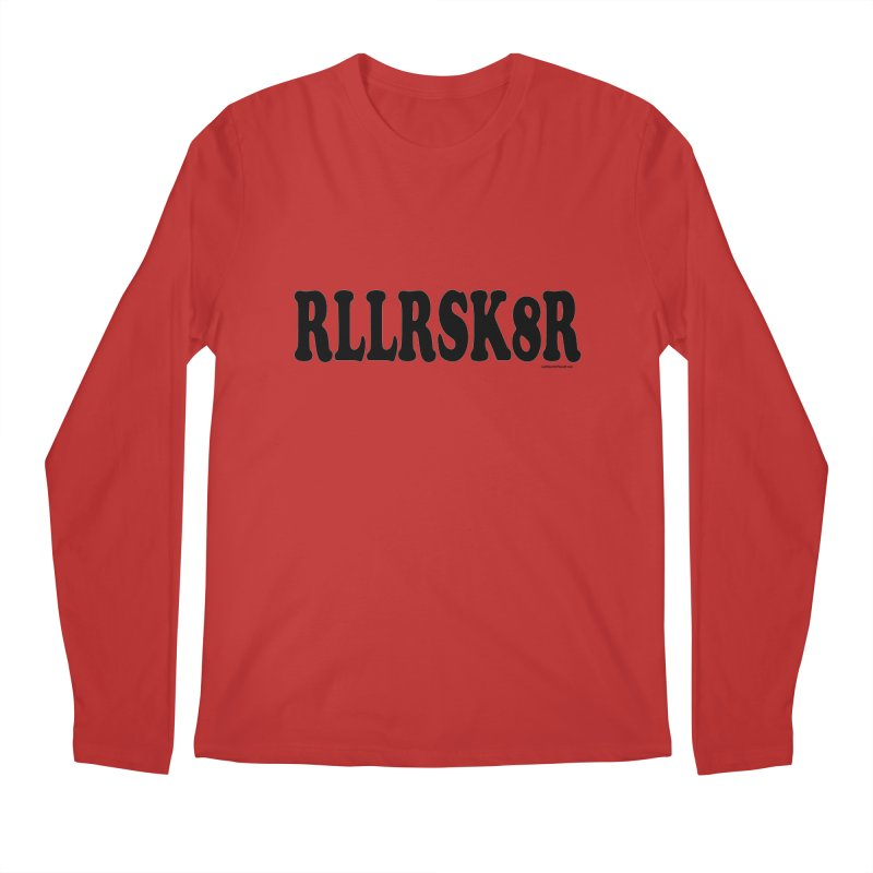RED RLLRSK8R Men's Longsleeve T-Shirt by Last Door on the Left