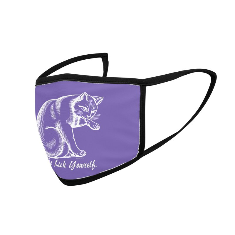 Go Lick Yourself Accessories Face Mask by Last Door on the Left