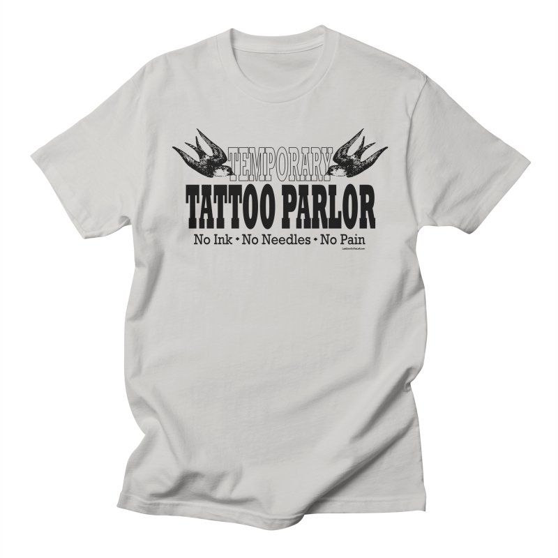 Temporary Tattoo Parlor 1 of 7 Men's T-Shirt by Last Door on the Left