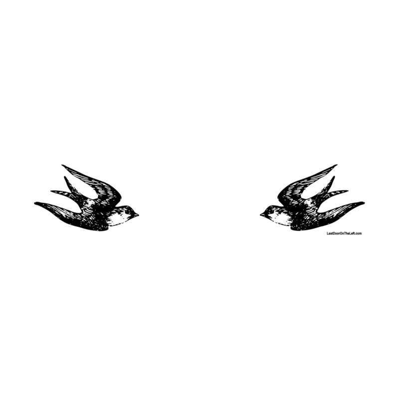 Barn Swallows Tattoo Men's T-Shirt by Last Door on the Left