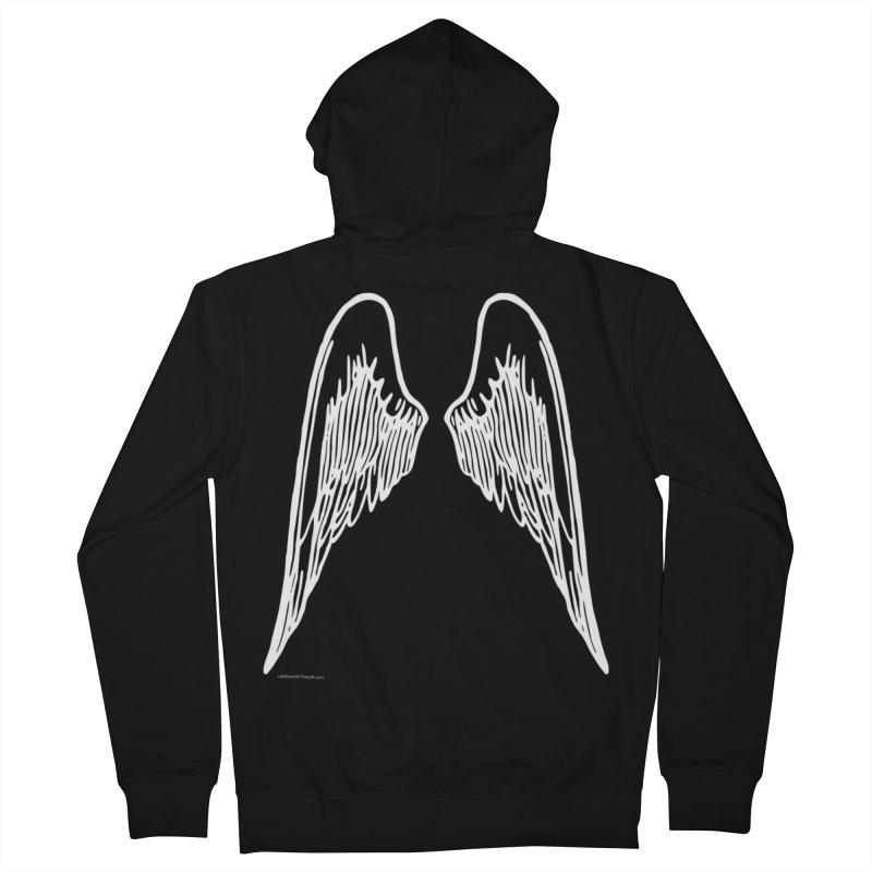 White Wings Hoodie Men's Zip-Up Hoody by Last Door on the Left
