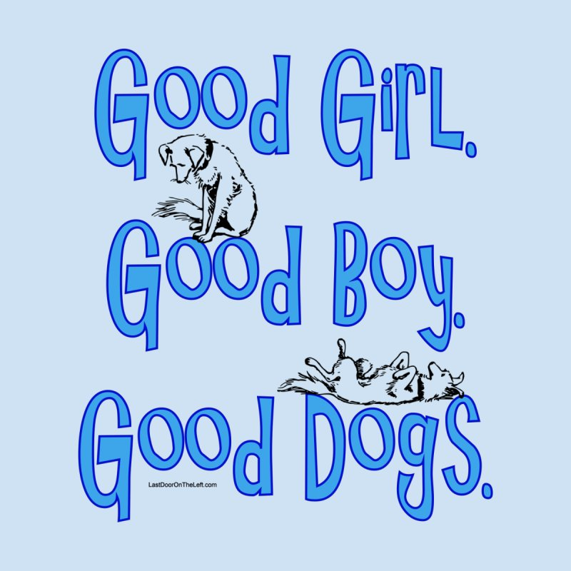 Good Dogs Accessories Notebook by Last Door on the Left