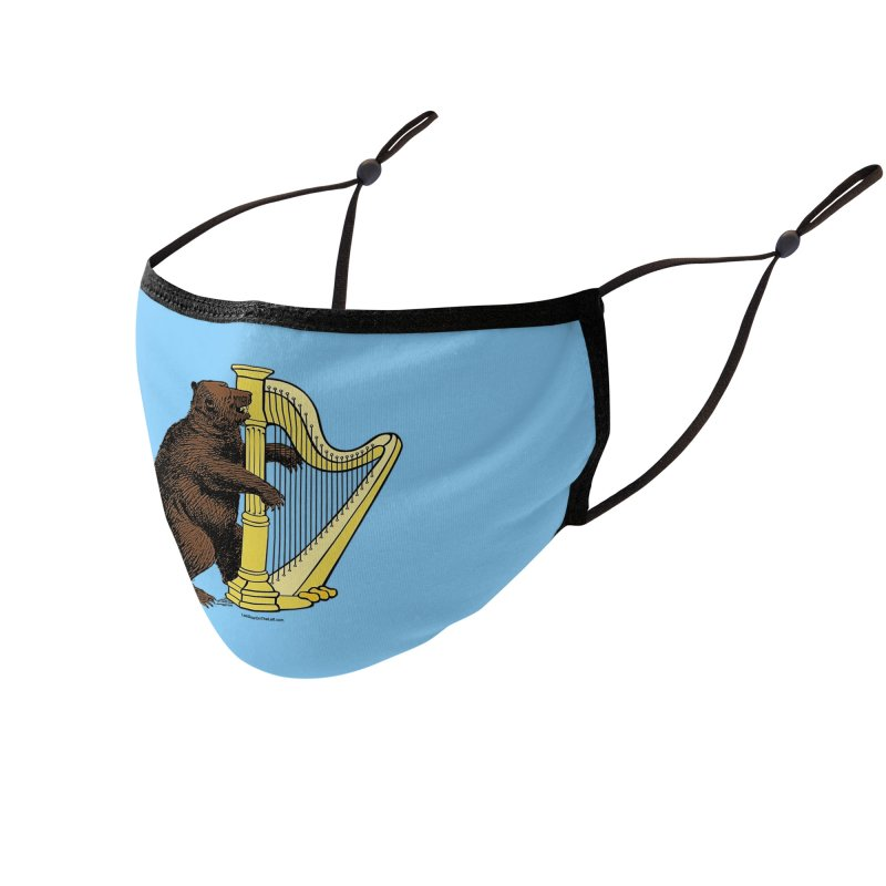 Bear Harp Accessories Face Mask by Last Door on the Left