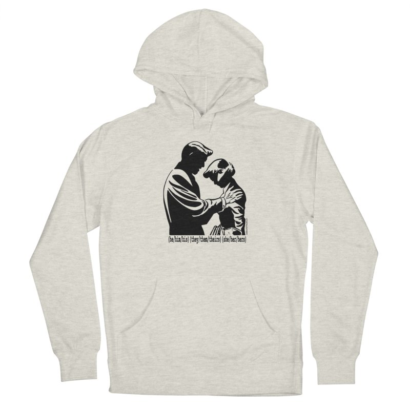 Gender Pronouns (It's okay to make a mistake...) Women's Pullover Hoody by Last Door on the Left