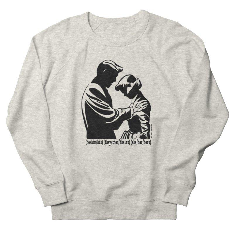 Gender Pronouns (It's okay to make a mistake...) Men's Sweatshirt by Last Door on the Left