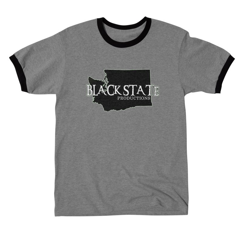 Black State Productions Men's T-Shirt by Last Door on the Left