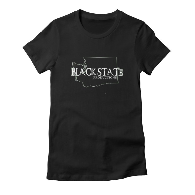 Black State Productions Women's T-Shirt by Last Door on the Left