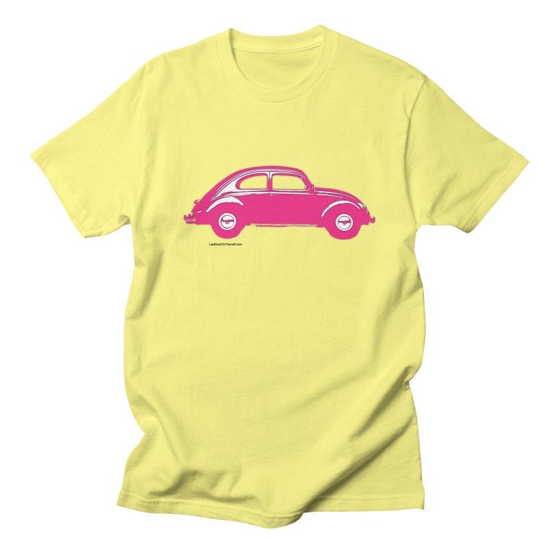 Pink Beatle Men's T-Shirt by Last Door on the Left