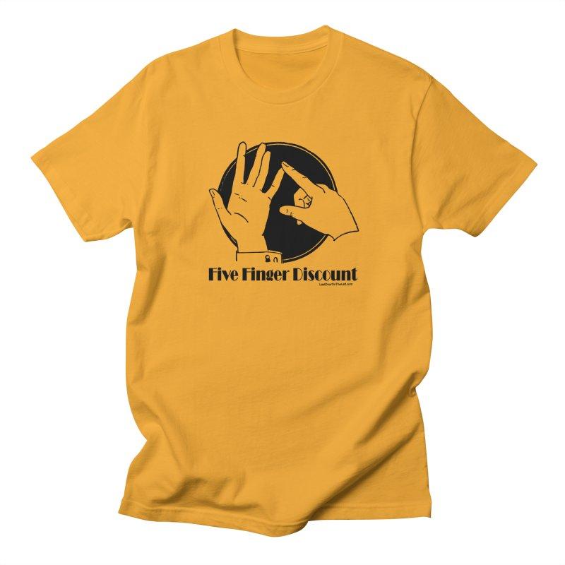 Five Finger Discount Men's T-Shirt by Last Door on the Left