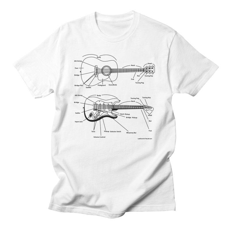 Know Your Guitars Men's T-Shirt by Last Door on the Left