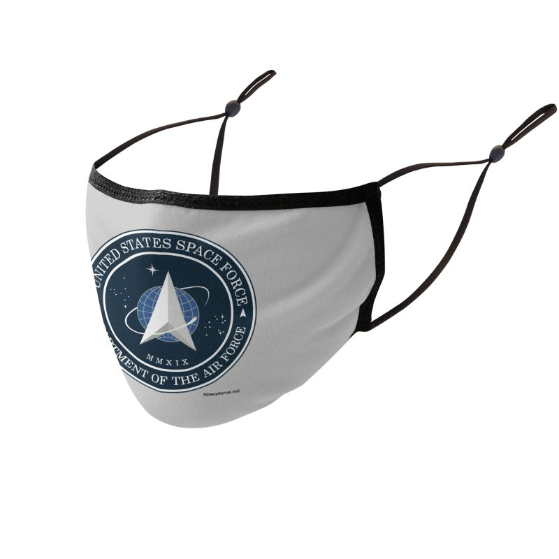 United States Space Force Accessories Face Mask by Last Door on the Left
