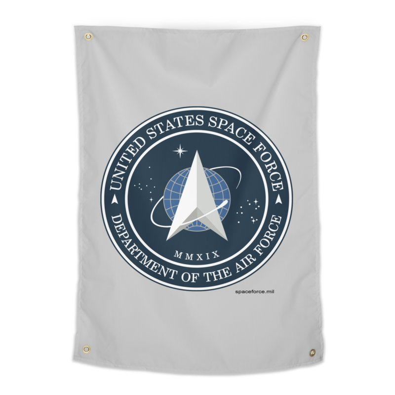 United States Space Force Home Tapestry by Last Door on the Left