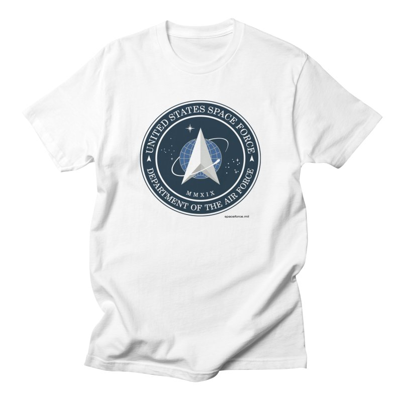 United States Space Force Men's T-Shirt by Last Door on the Left