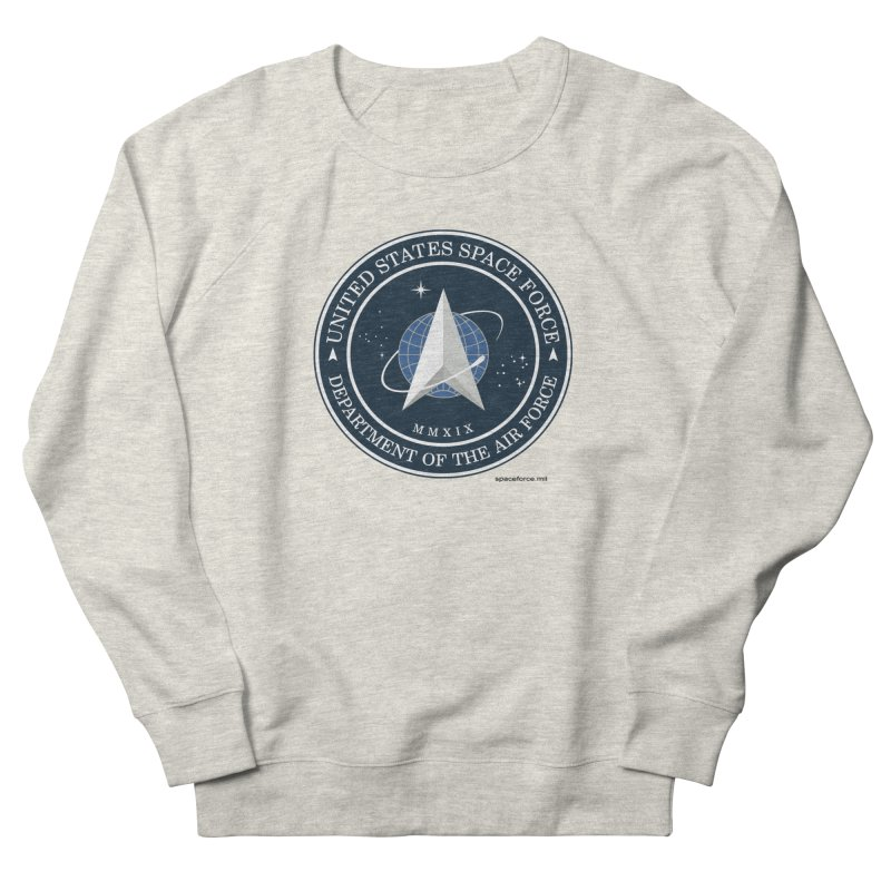 United States Space Force Men's Sweatshirt by Last Door on the Left