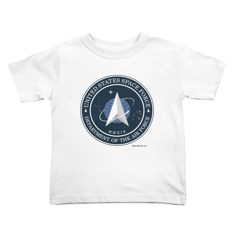 United States Space Force Kids Toddler T-Shirt by Last Door on the Left