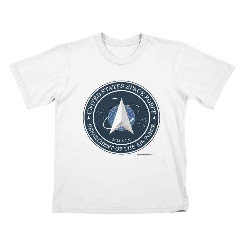 United States Space Force Kids T-Shirt by Last Door on the Left