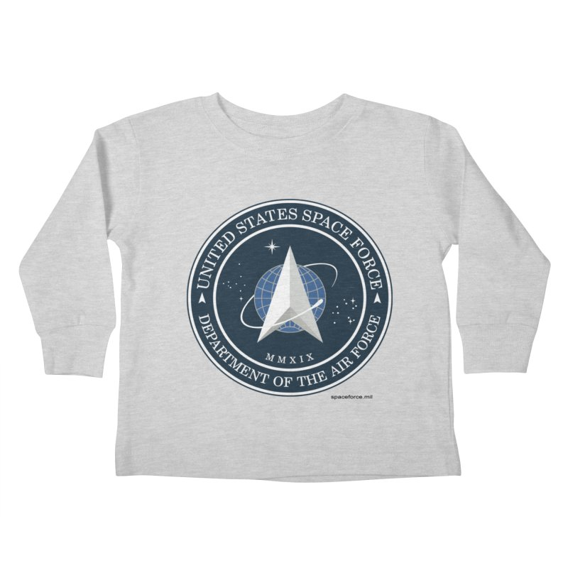 United States Space Force Kids Toddler Longsleeve T-Shirt by Last Door on the Left