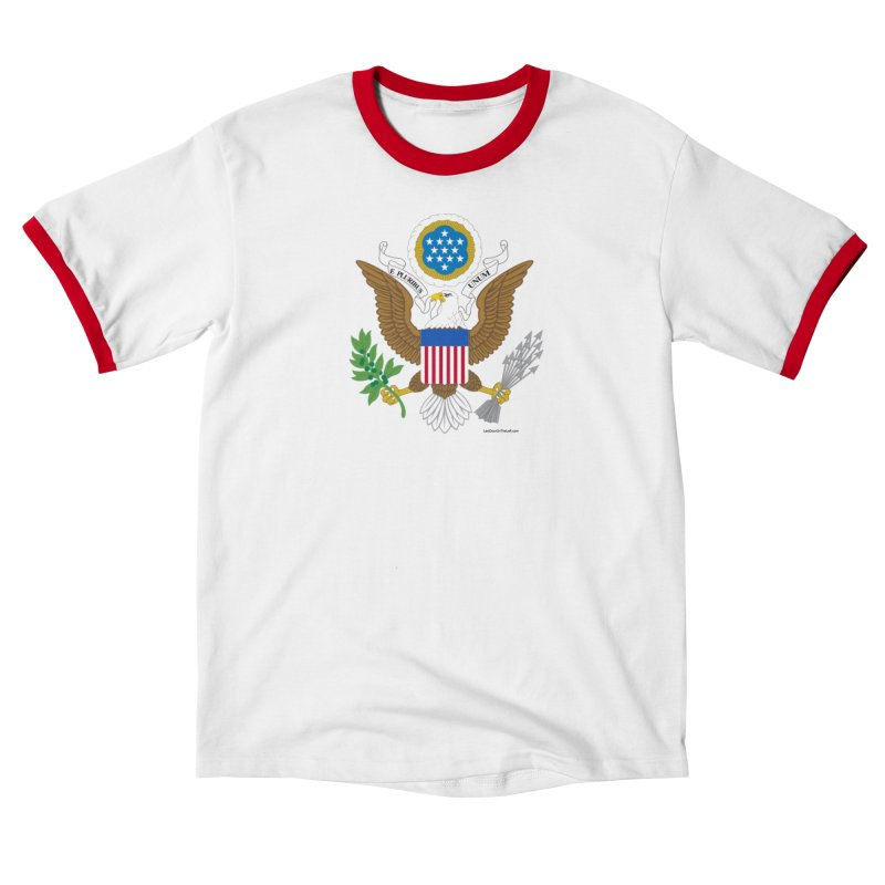 Great Seal of the United States Men's T-Shirt by Last Door on the Left